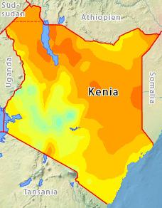 Kenia Im August